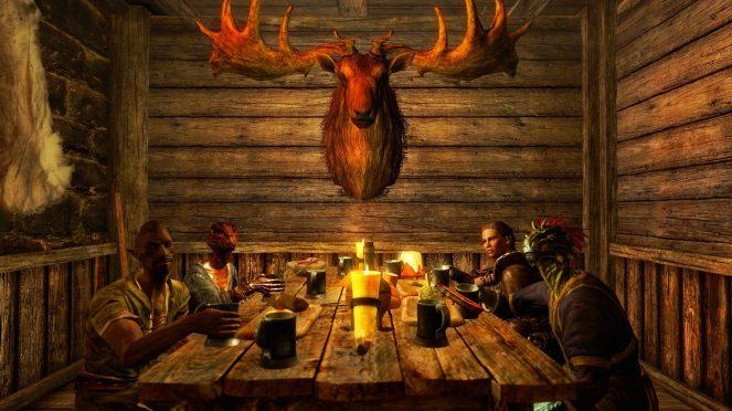 dinnertime-at-haelgas-bunkhouse